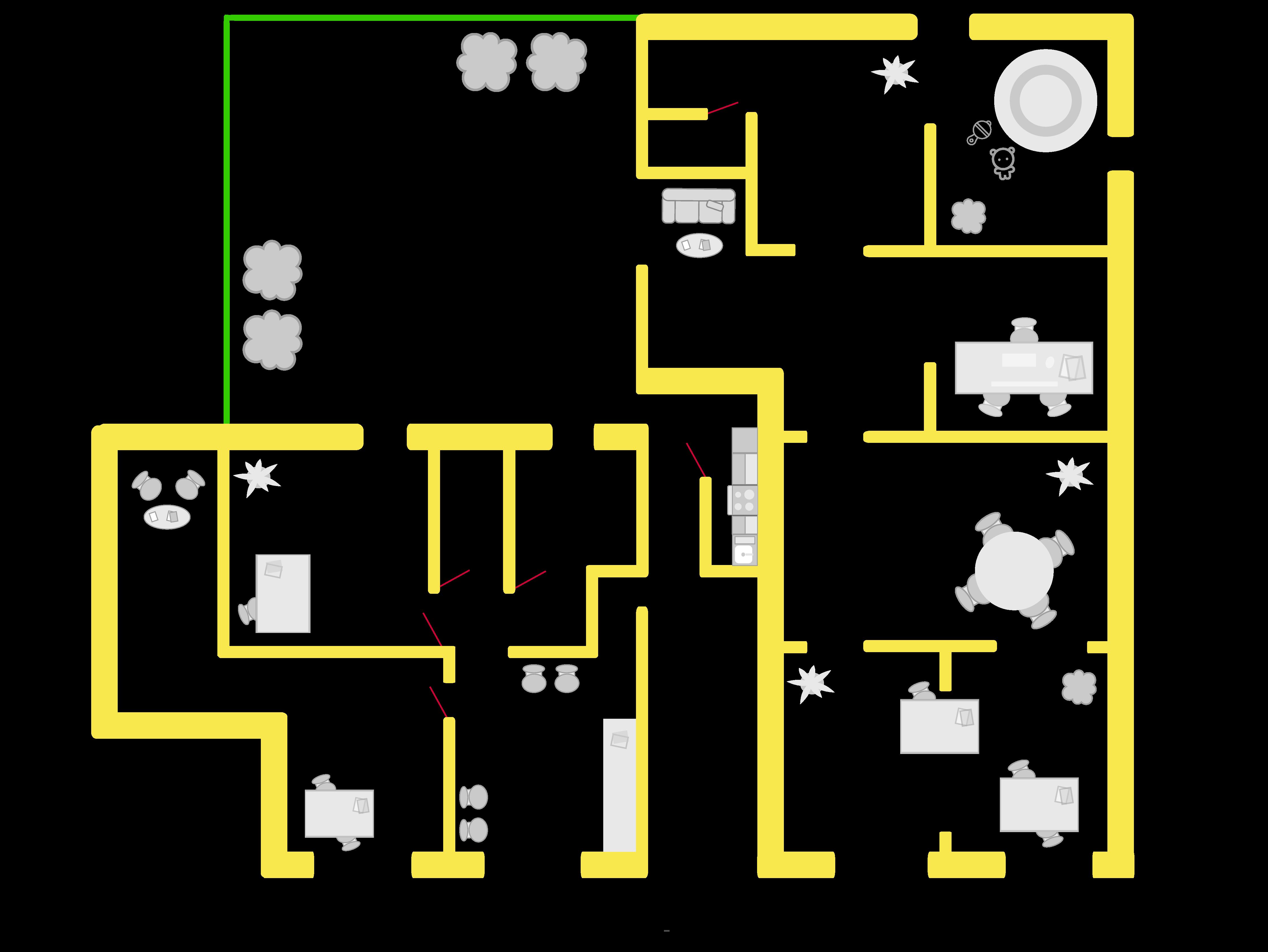 Planimetria sede CO-STANZA